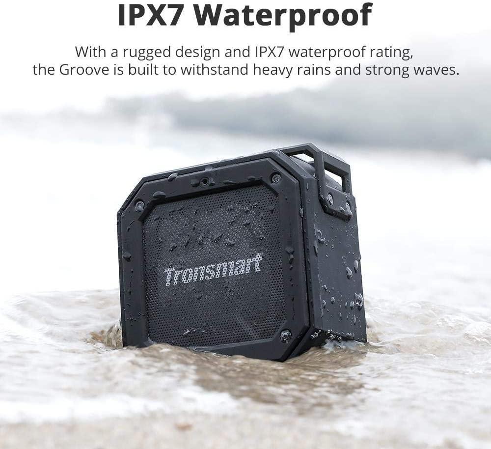 Tronsmart groove enceintes portable bluetooth 12w haut parleur bluetooth 5 0 5